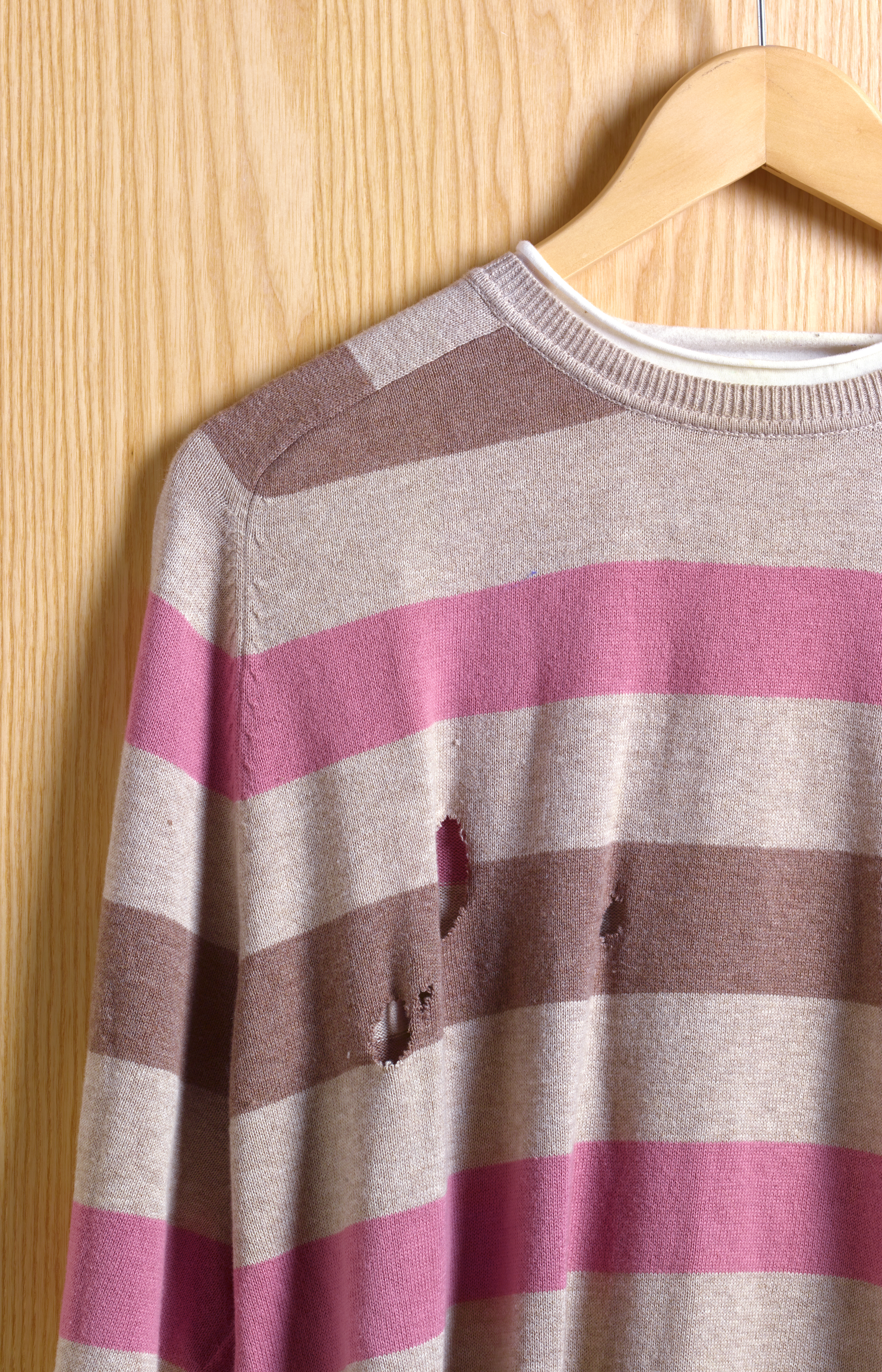 Sweater with Hole