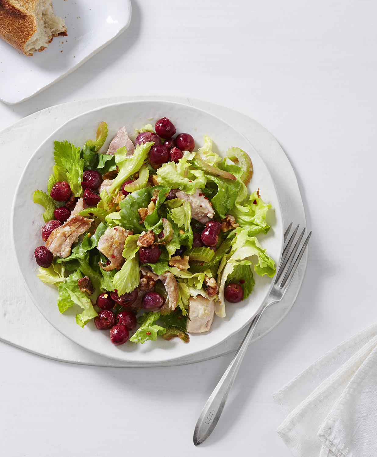 Roasted Chicken and Celery Waldorf Salad