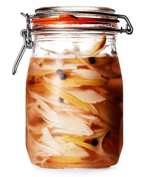 Apple and Fennel Pickles