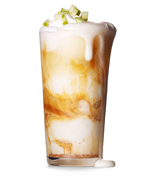 Caramel Apple Float