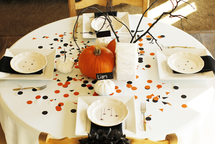 halloween party table - Halloween Table Decorations Ideas