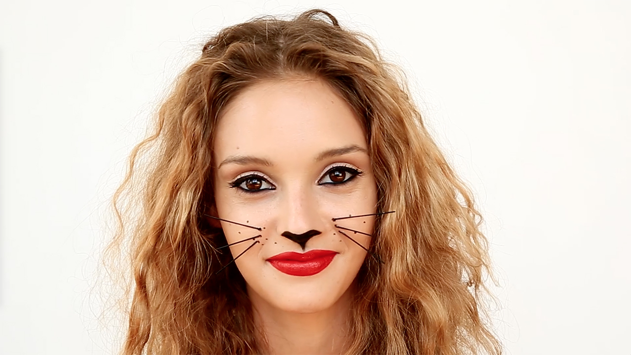 Video: Halloween Cat Makeup You Can Do Yourself | Real Simple