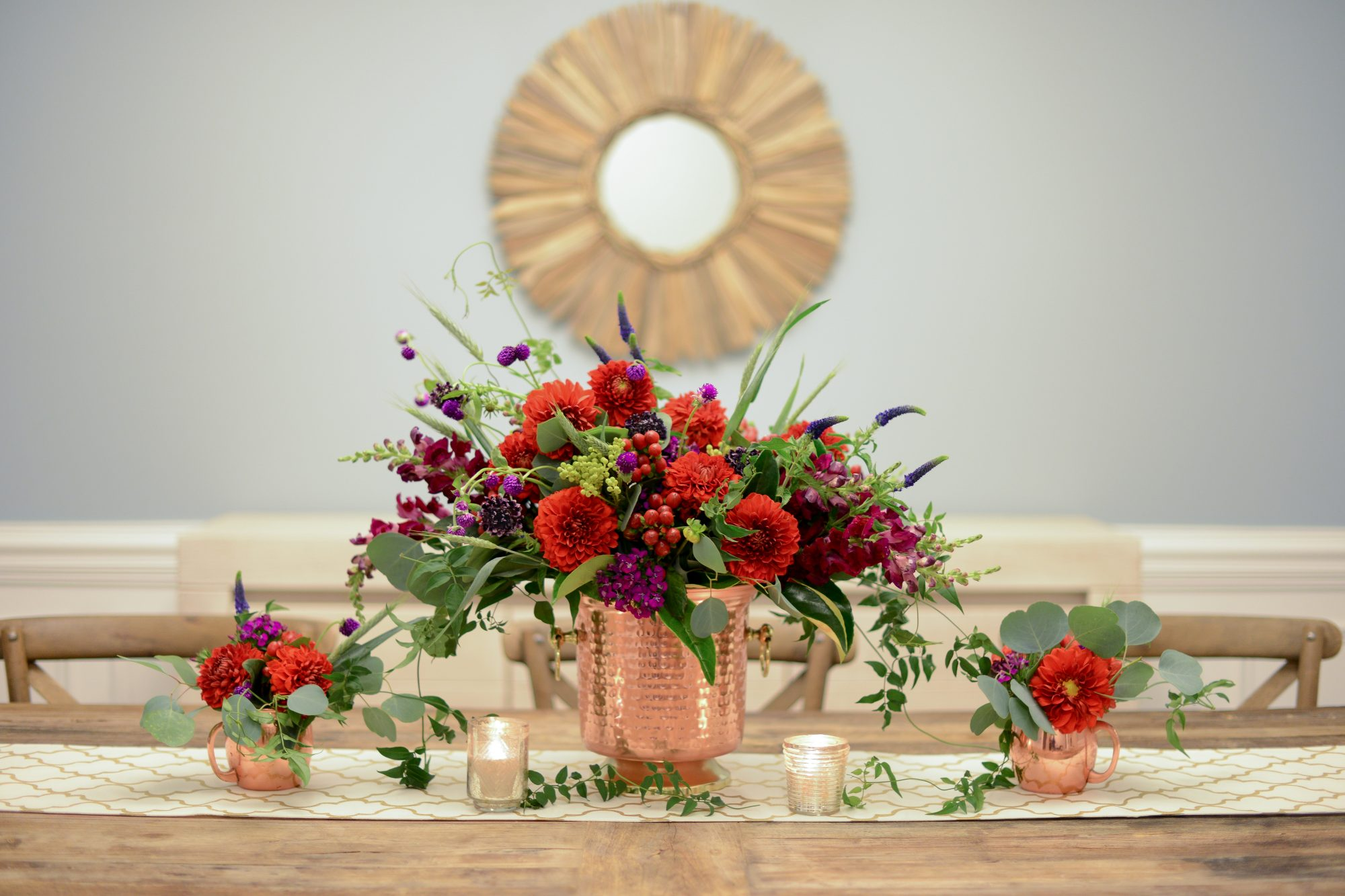 Find a Unique Vase. Lily Greenthumb Flower Arrangement & 10 Thanksgiving Flower Arrangement Ideas From the Pros
