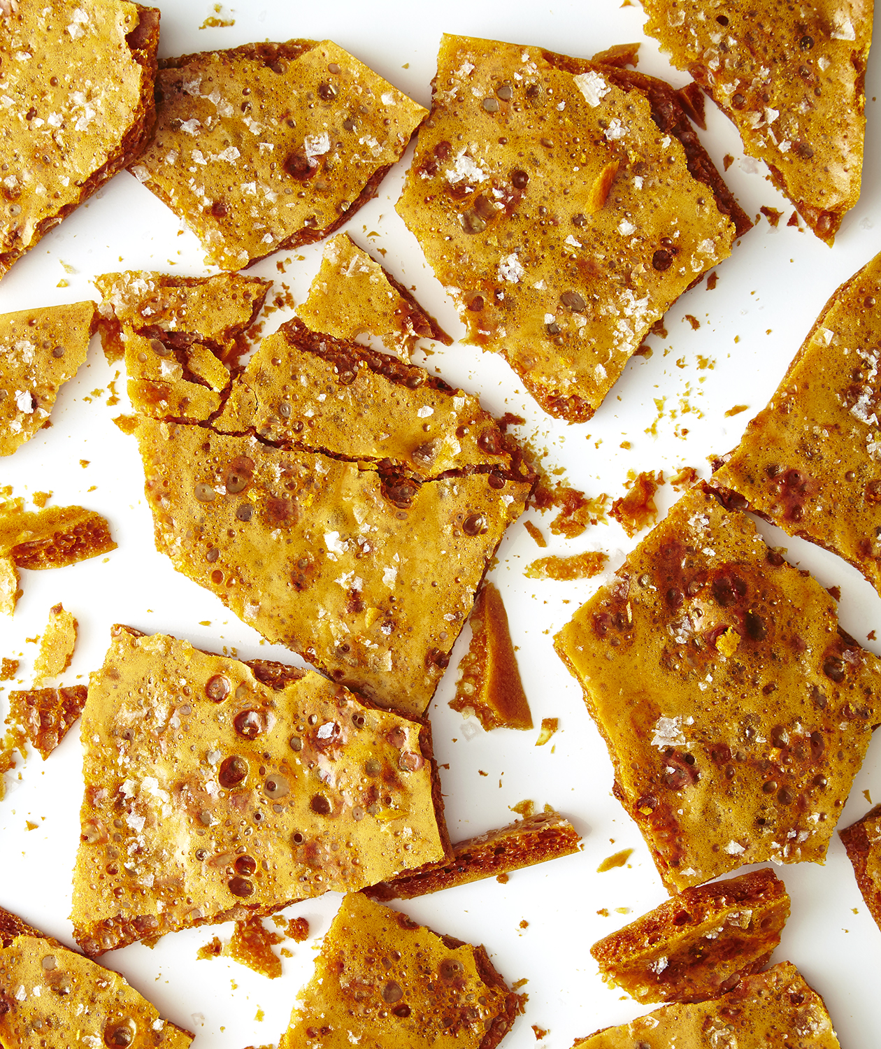 Sea Salt Honeycomb Recipe Real Simple