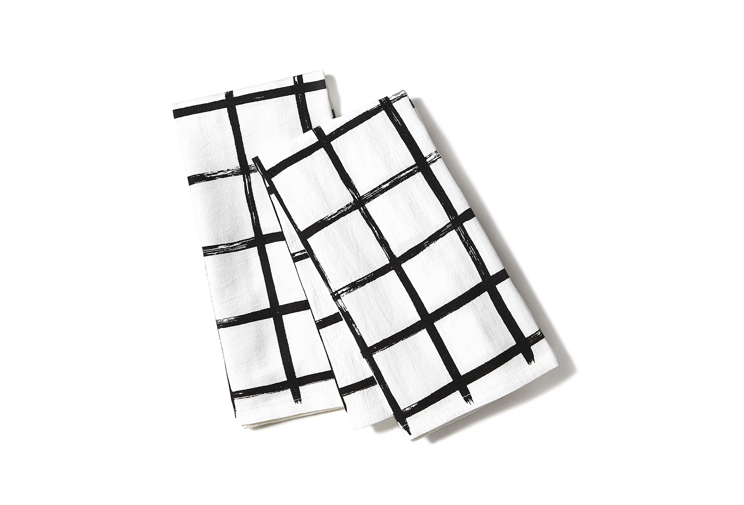 Brush Grid Napkins