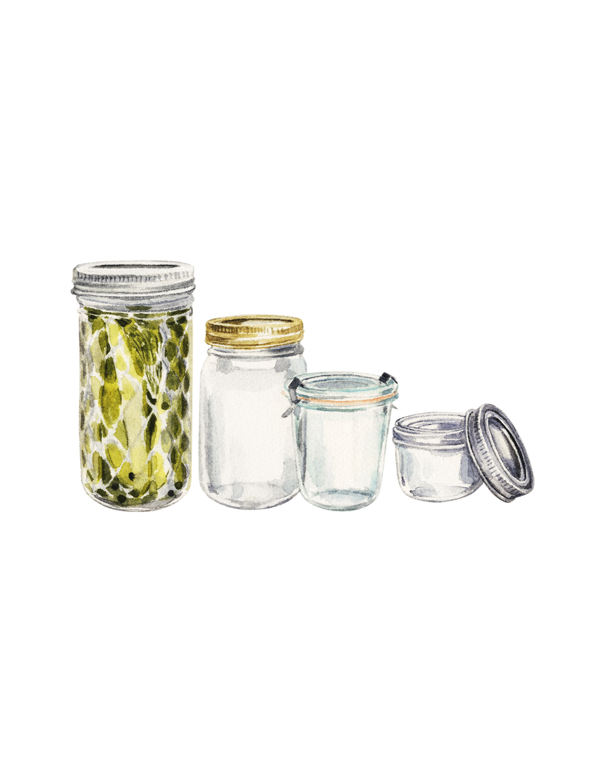 How to Prep Jars for Packing Gifts