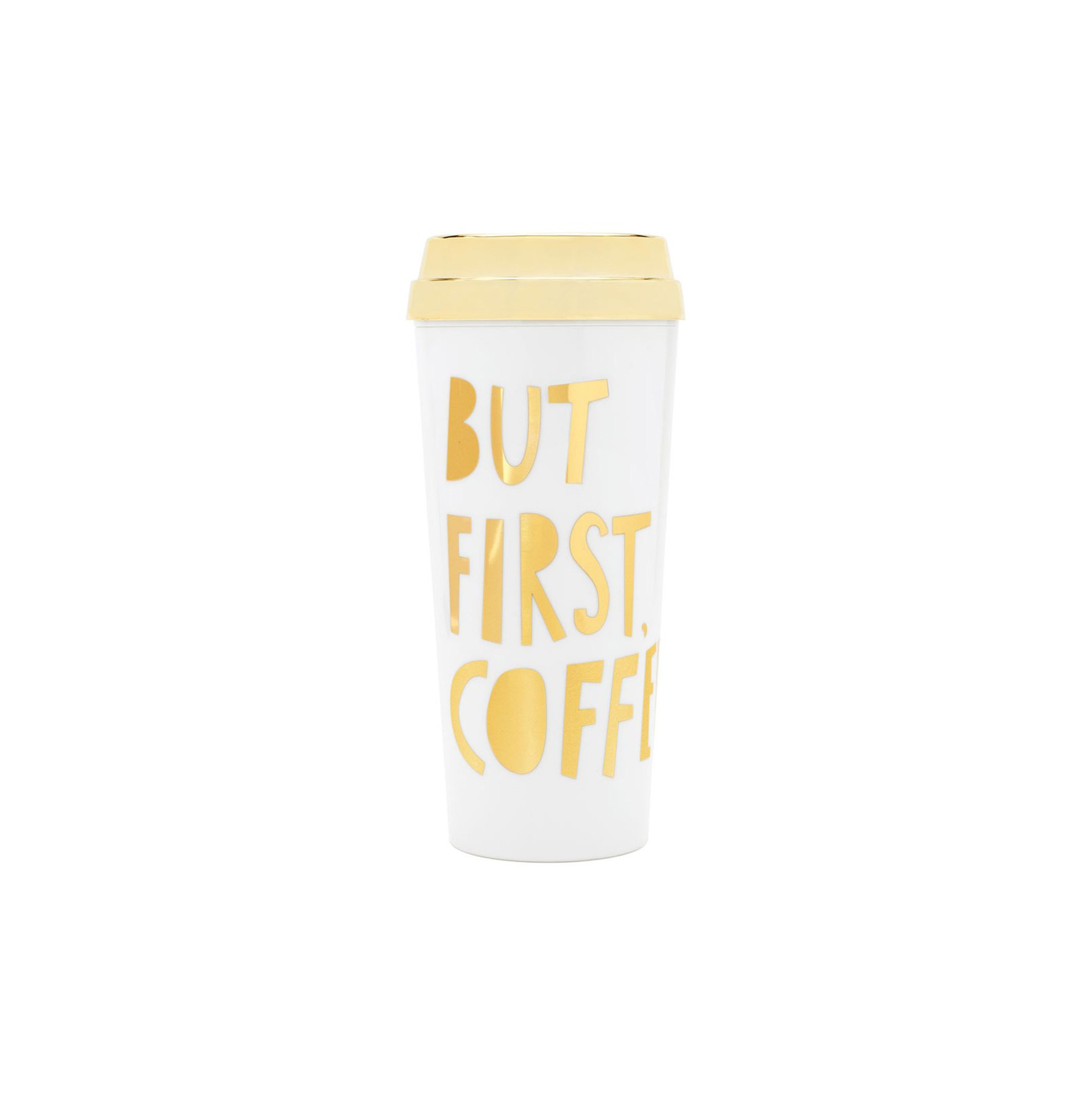 'But First, Coffee' Thermal Travel Mug