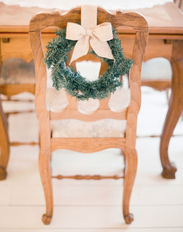 Amazing 7 Ways To Decorate Your Dining Chairs For The Holidays Ncnpc Chair Design For Home Ncnpcorg