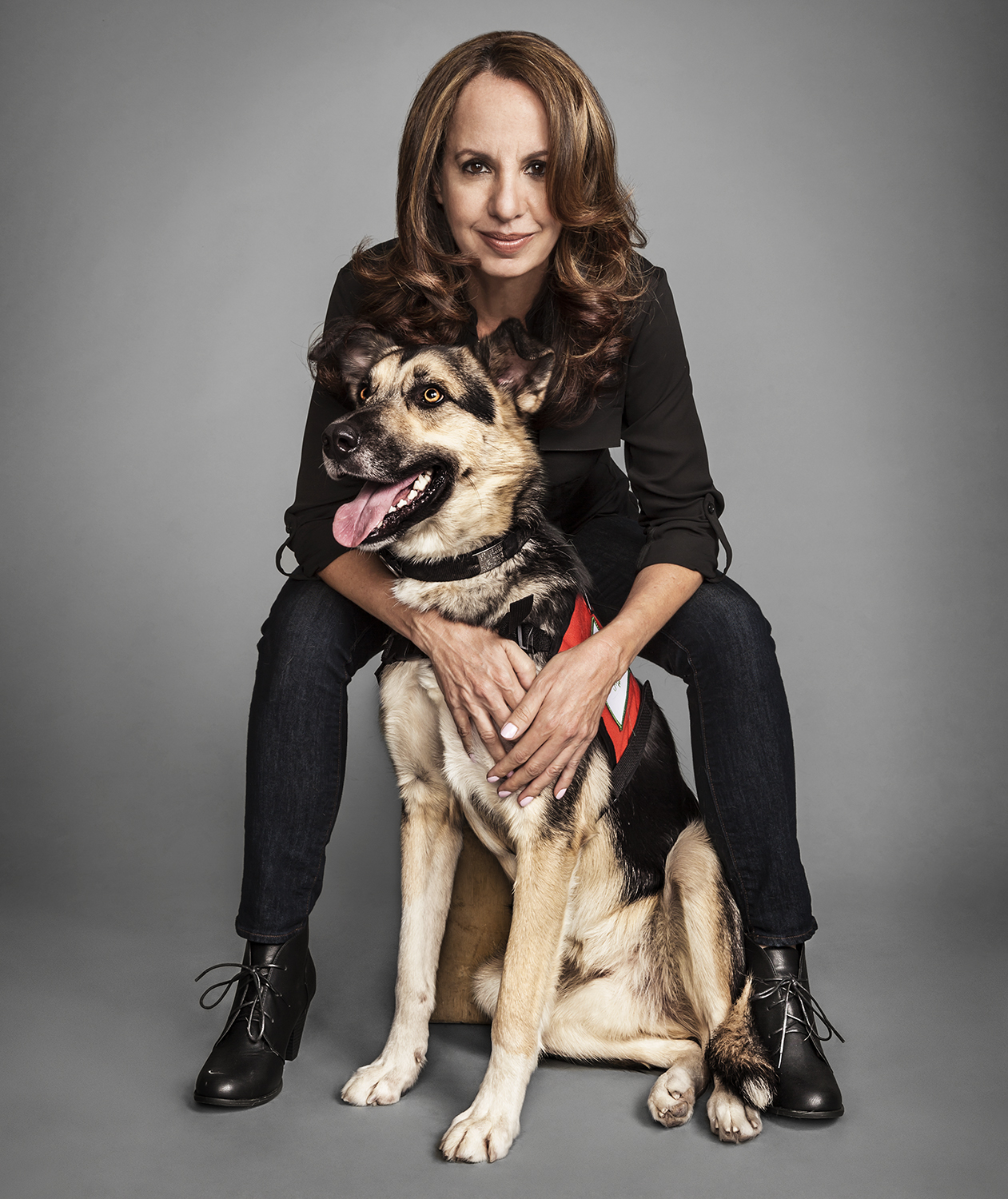 Sheri Soltes and dog Chechotah