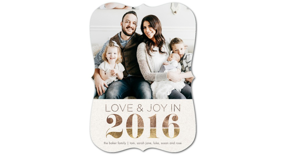 Floating Pennies New Years Cards