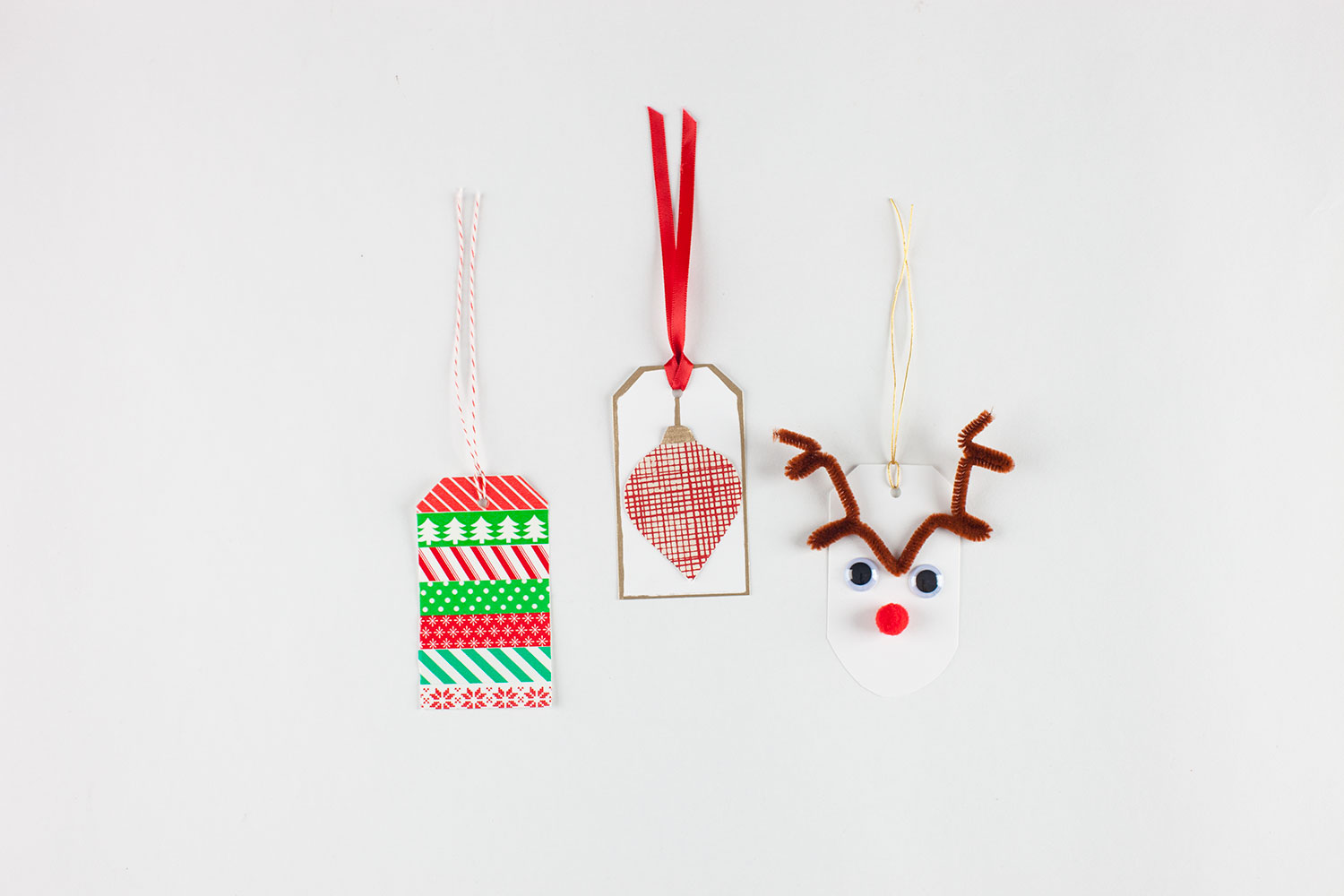 3 Easy Holiday Gift Tags
