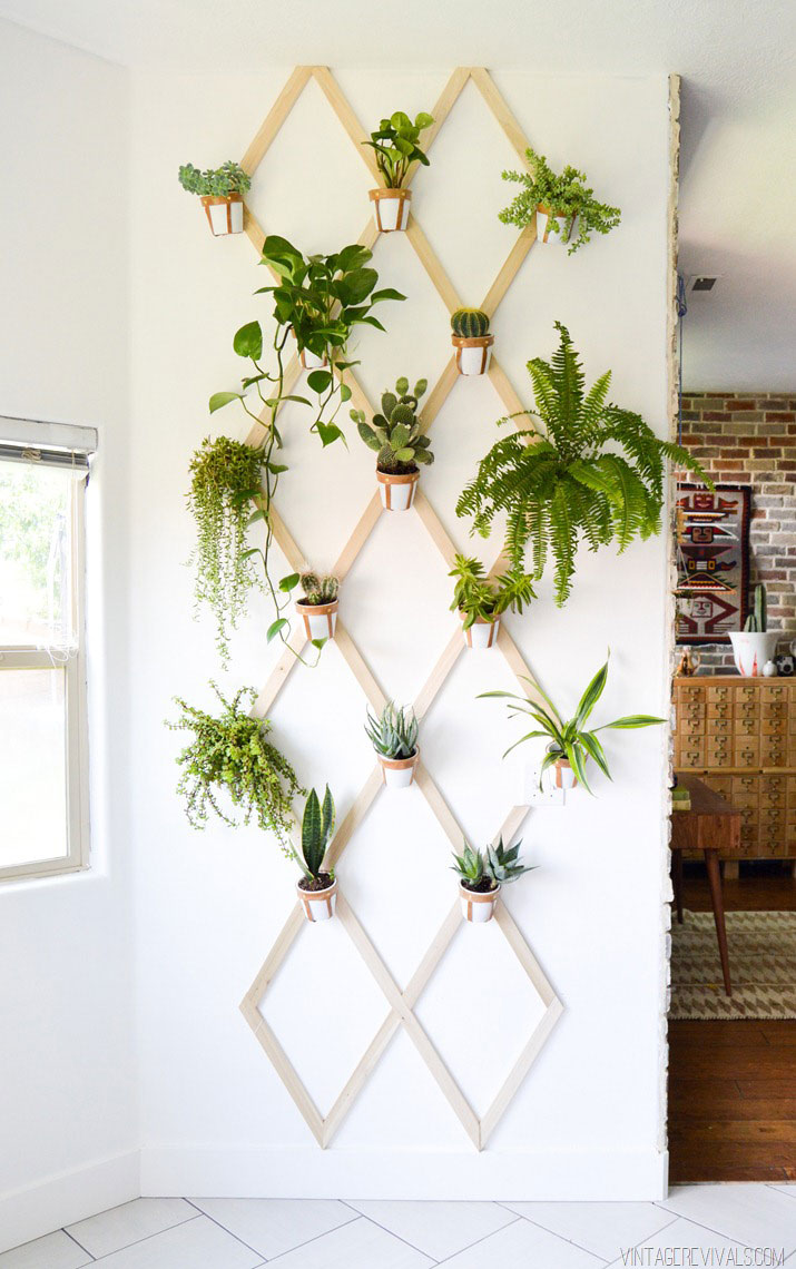10 indoor garden ideas to cure the winter blues real simple for Indoor garden design pictures
