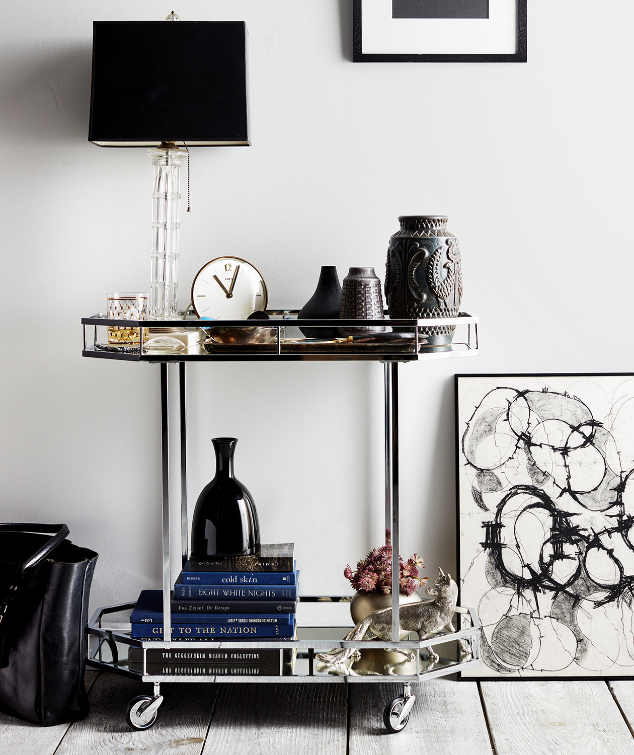 Bedside Display bar cart