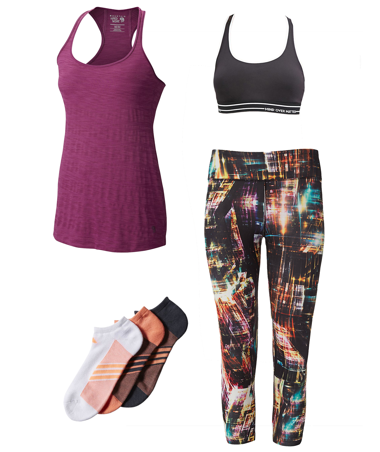 Spin City workout outfit