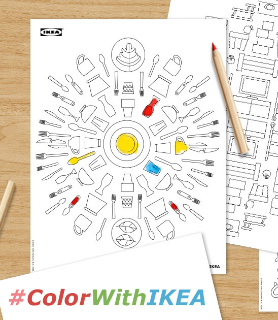IKEA Coloring Book