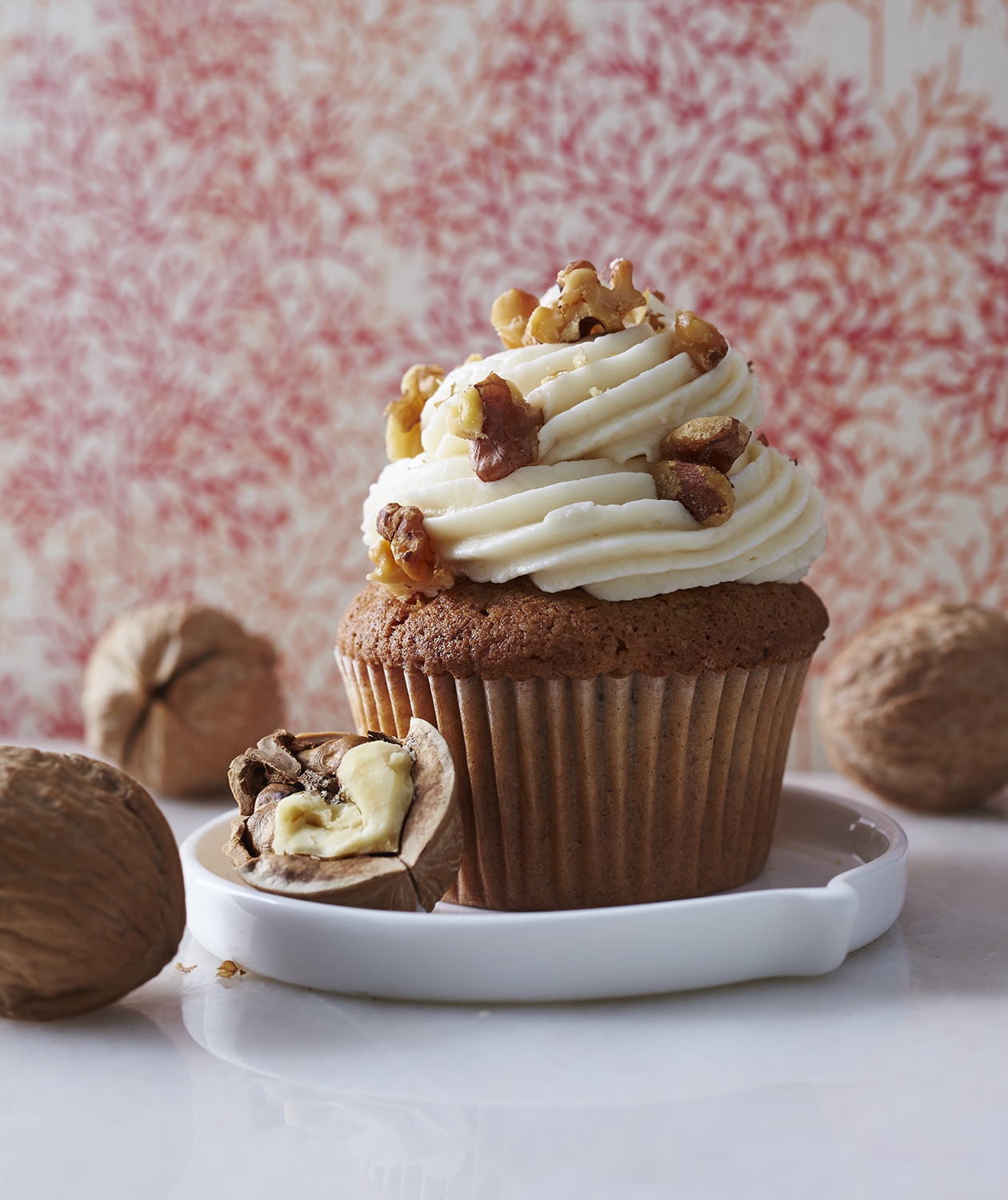 Cinnamon Walnut Cupcakes