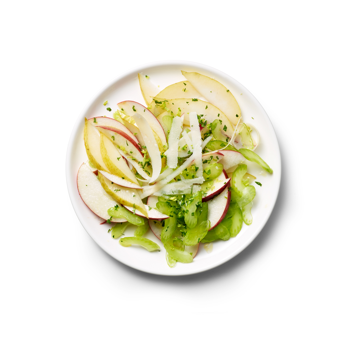 Apple, Pear, and Celery Salad