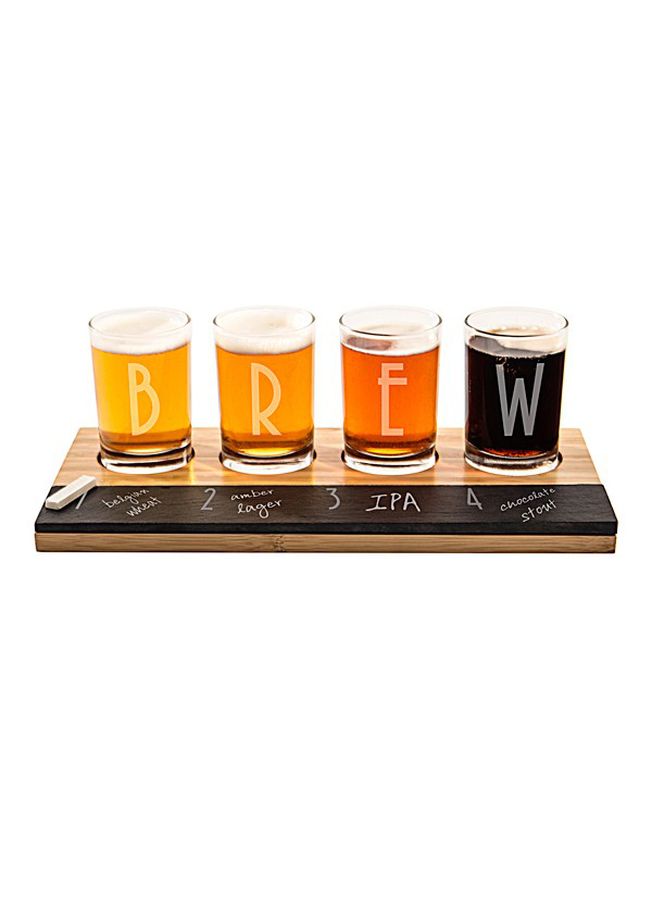 Personalized Craft Beer Tasting Flight