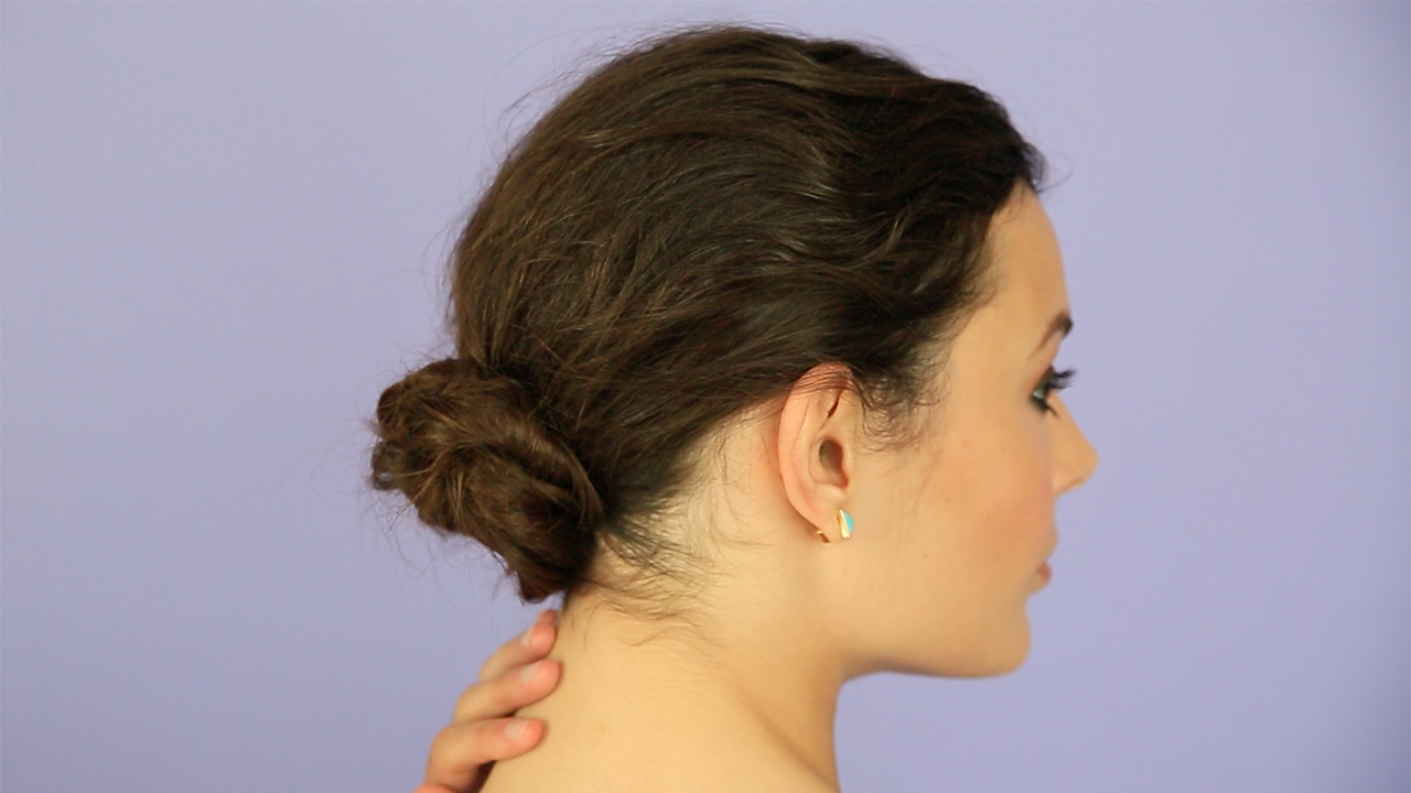 Video Low Bun How To Real Simple