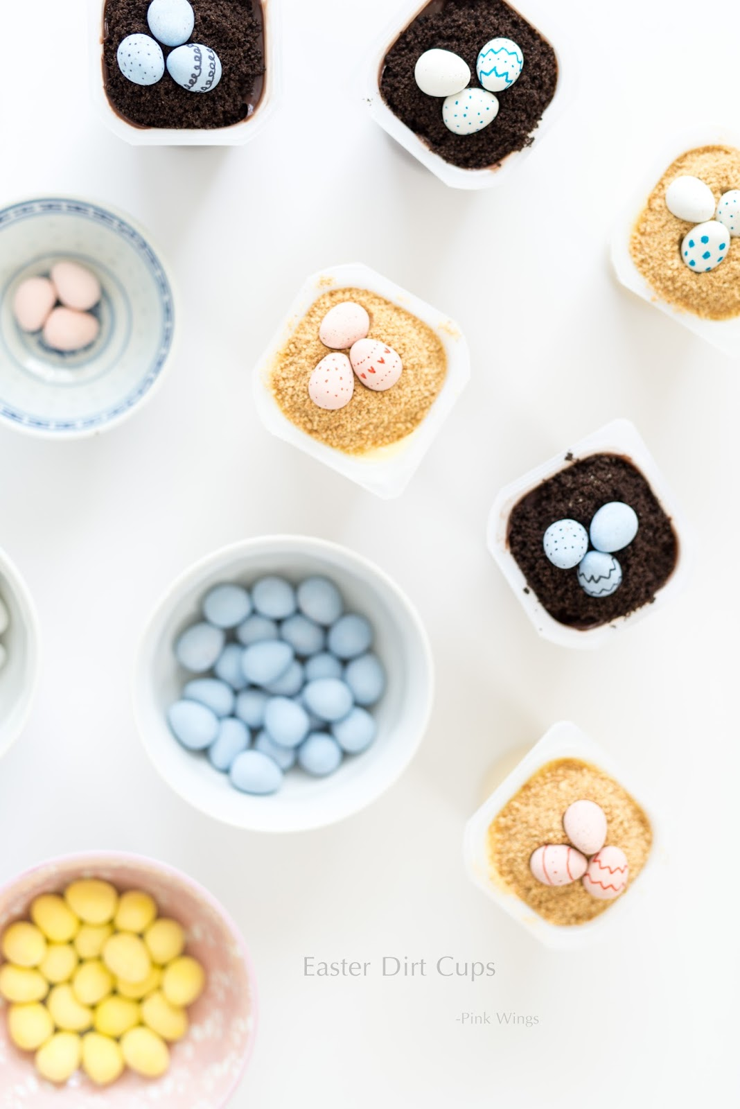 Easter Dirt Cups