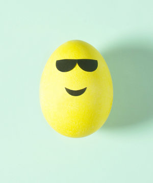 Smiling Face With Sunglasses Emoji Egg
