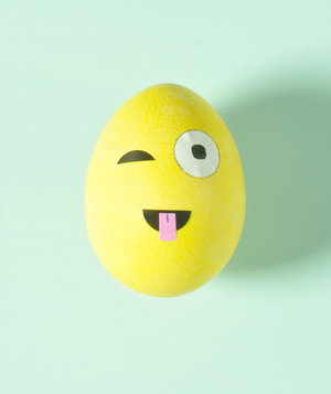 Face With Stuck Out Tongue and Winking Eye Emoji Egg
