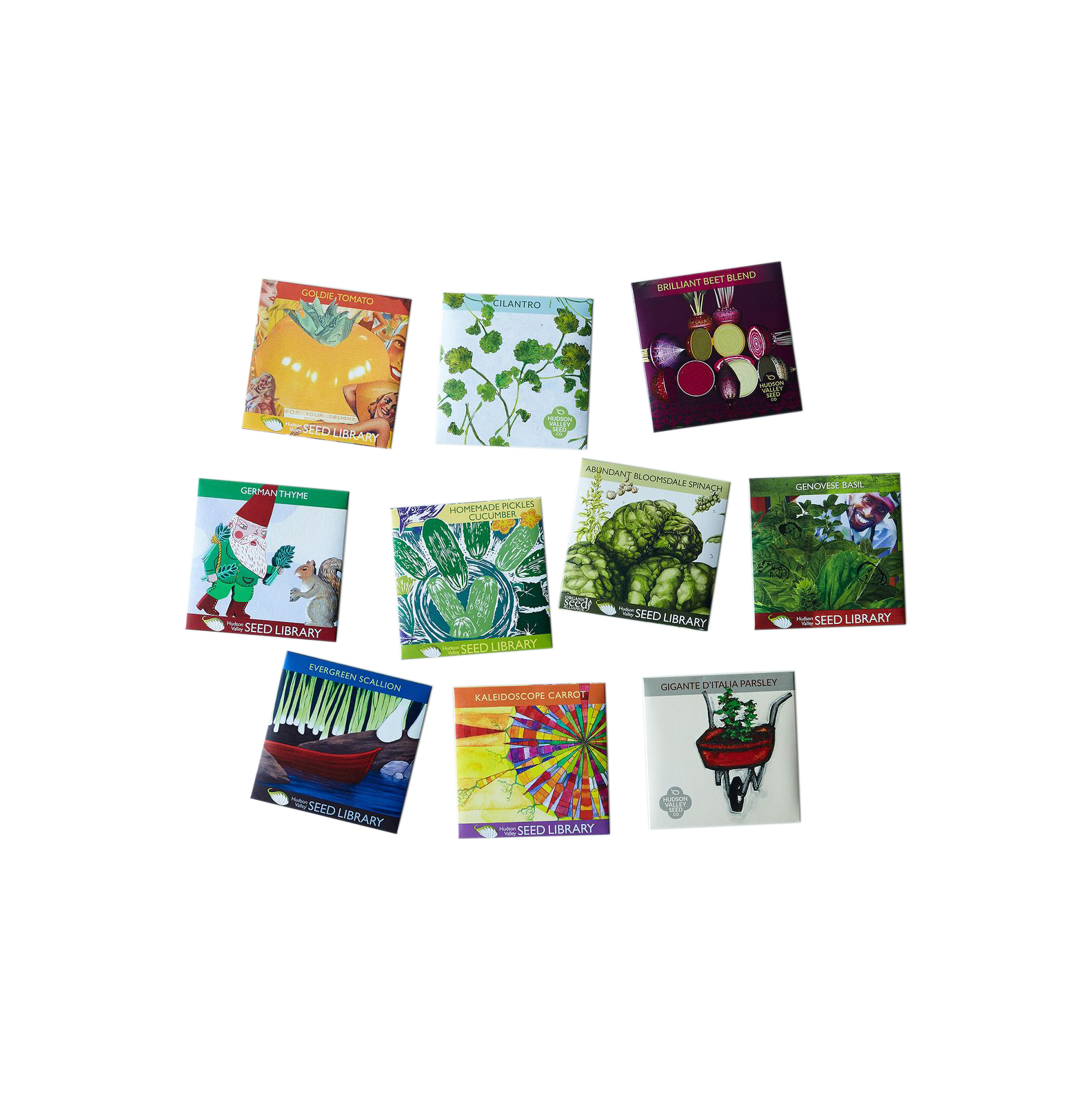 Gifts for mother in law real simple heirloom seed art packets negle Choice Image