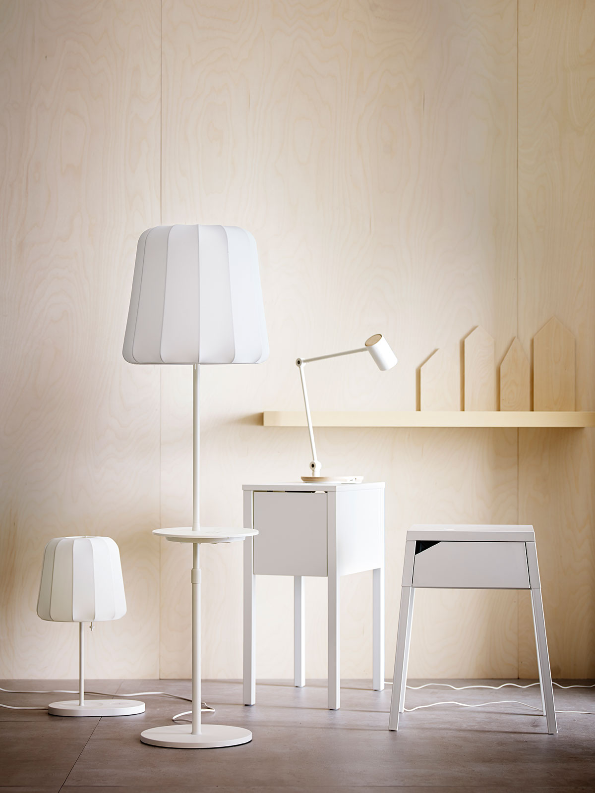 IKEA's Wireless Charging Furniture Makes Technology More Accessible
