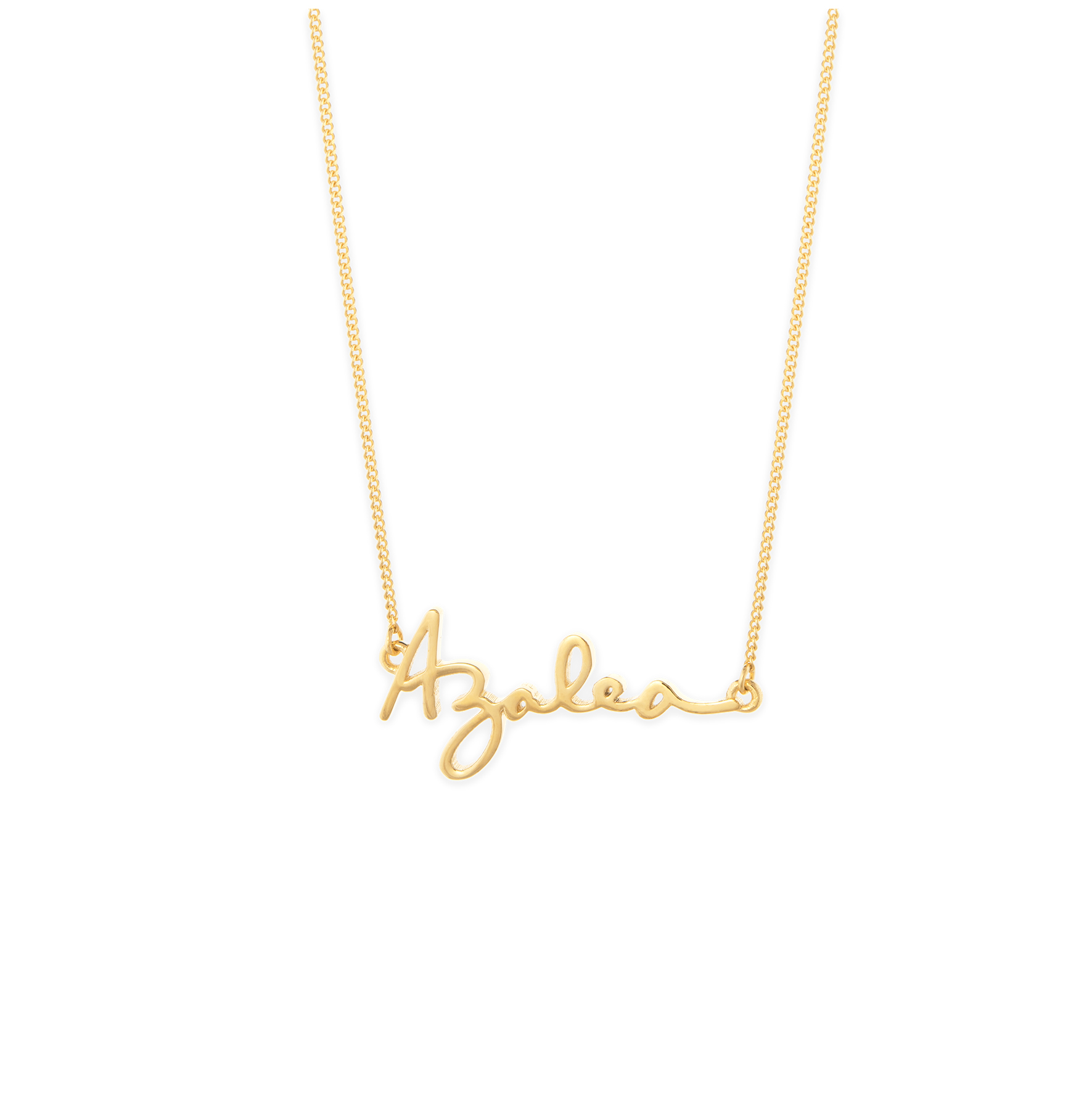 Capsul Jewelry Customizable Signature Necklace