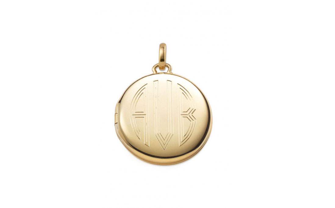 Engraved Memento Locket