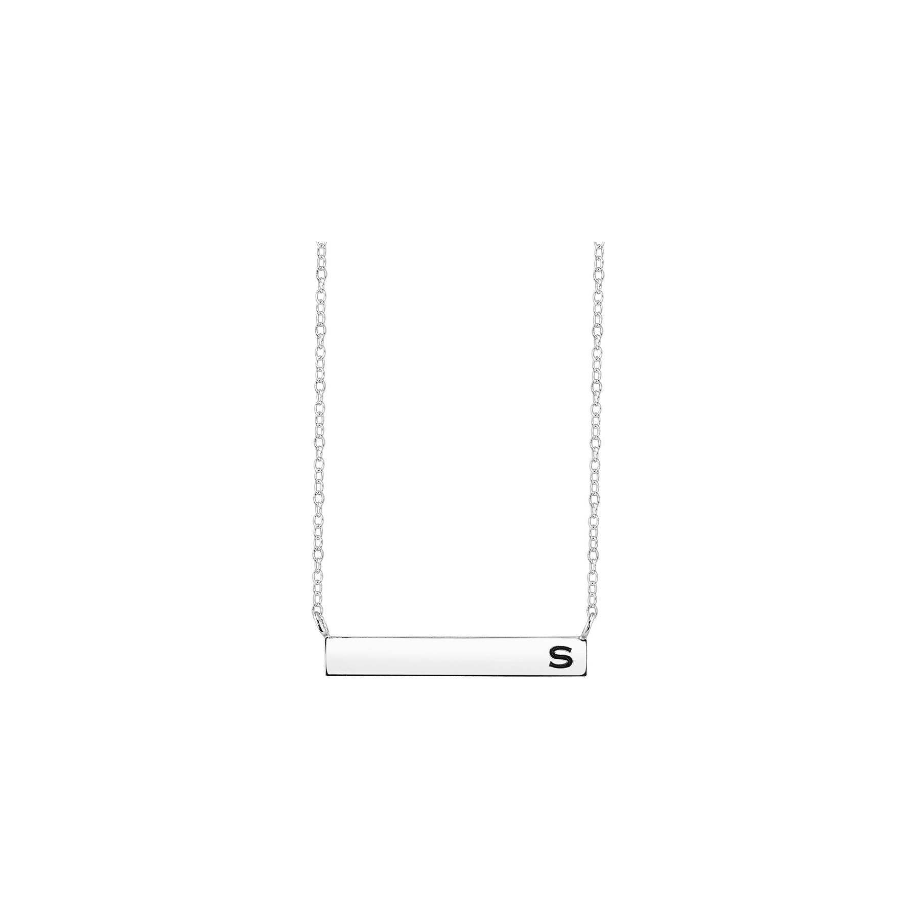 Target Initial Bar Necklace