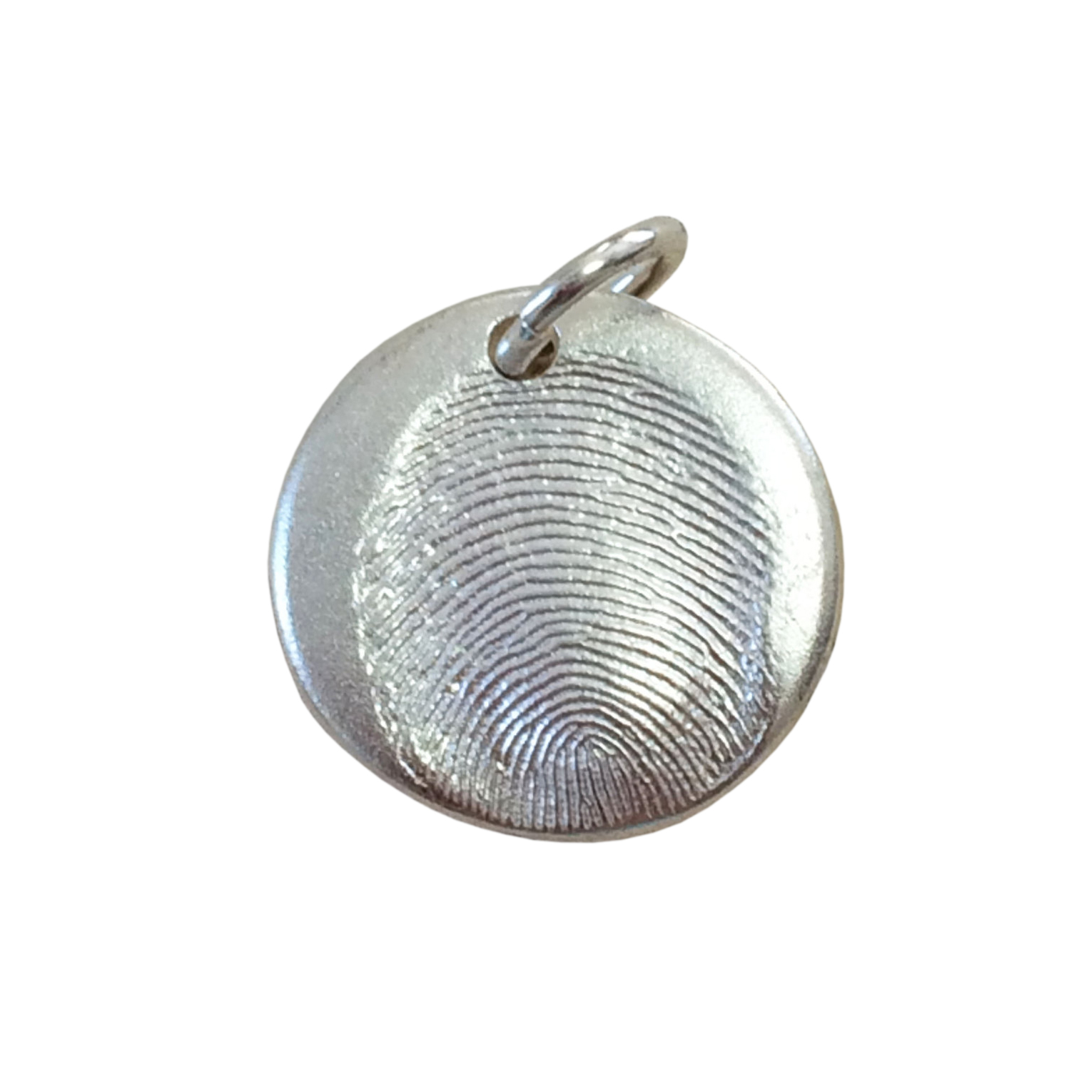 Spoken Antiquity Thumbprint Necklace Jewelry Charm