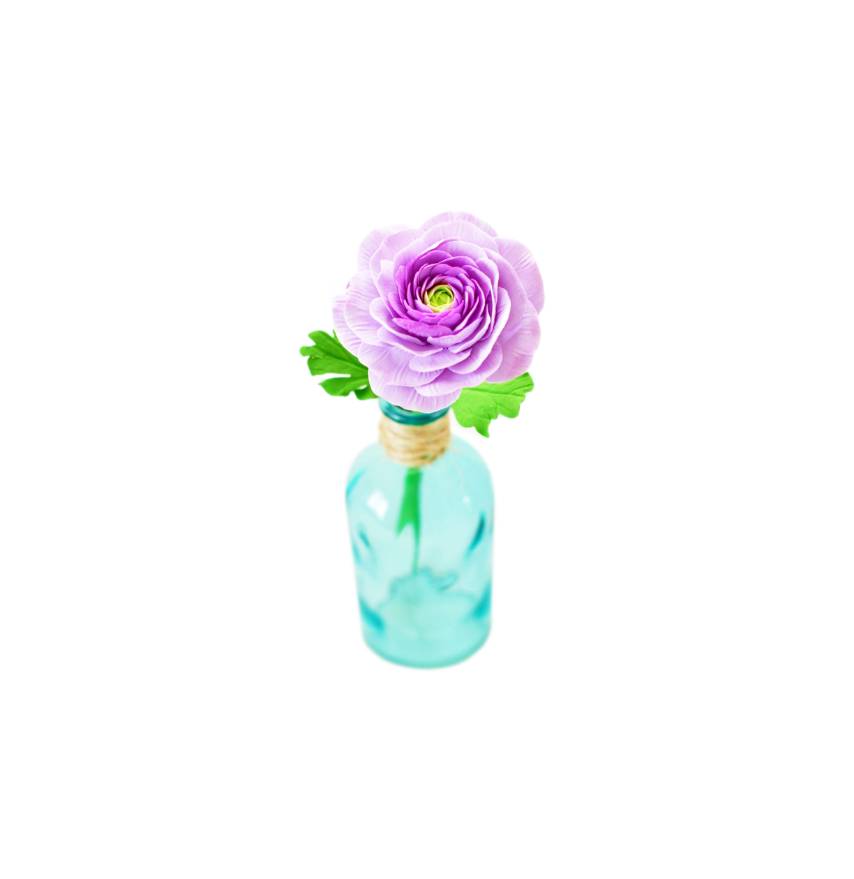 Purple Clay Ranunculus