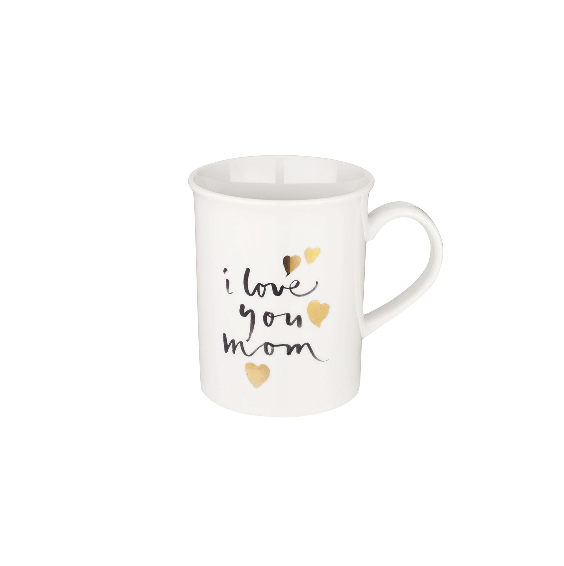 I Love You Mom Porcelain Mug
