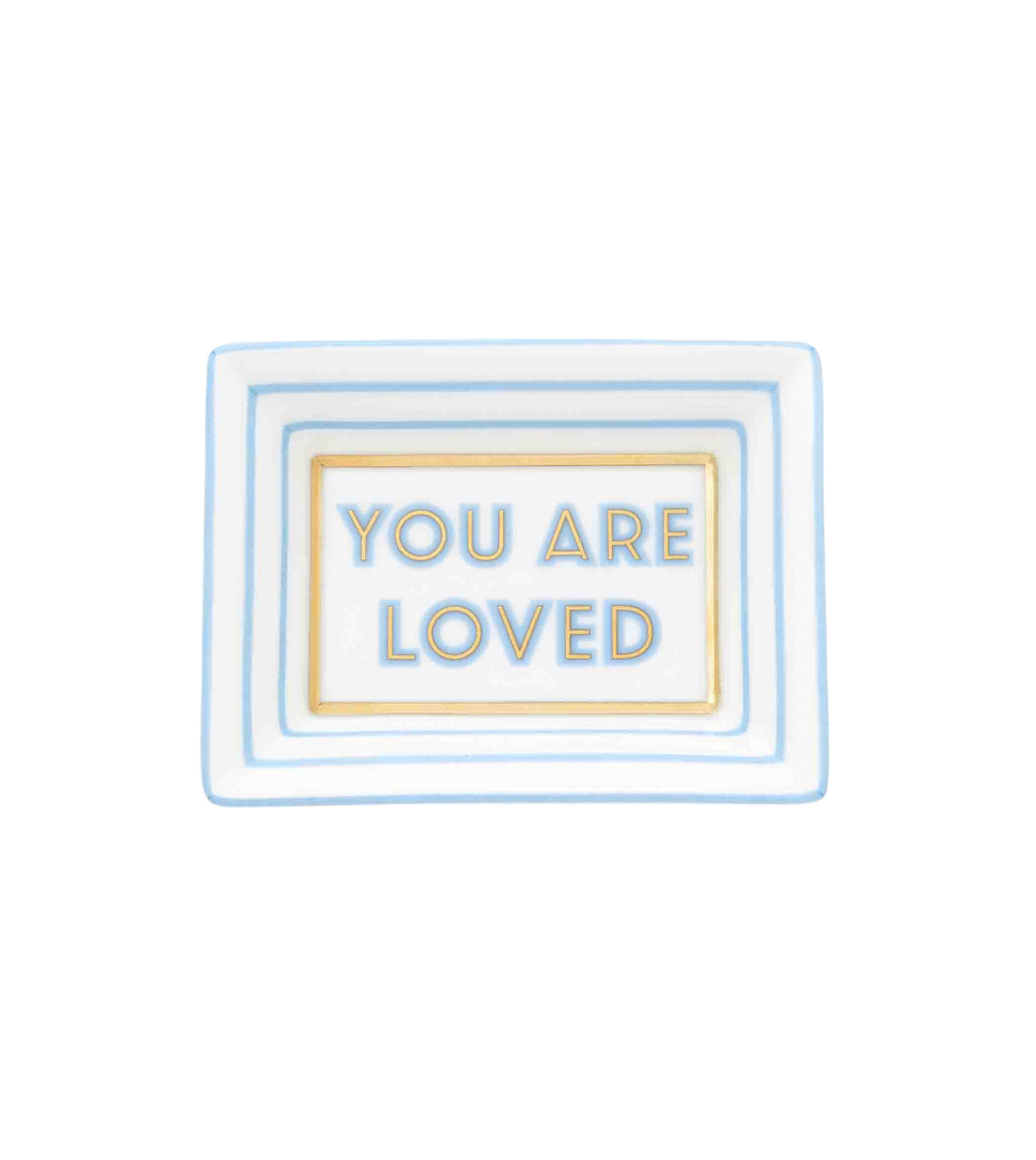 You Are Loved Trinket Tray