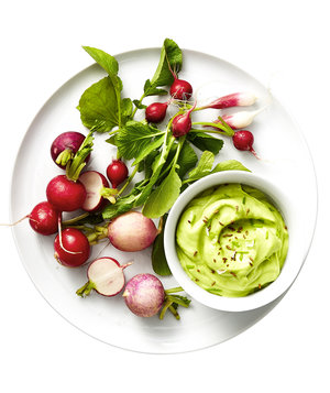 Radishes With Caraway-