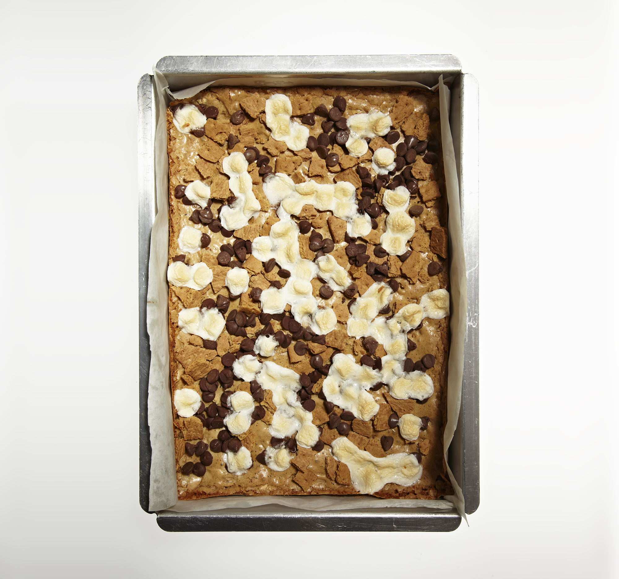 S'mores Blondies (smores list)