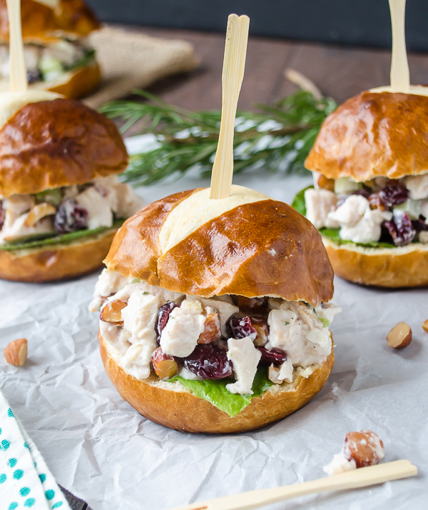 Sonoma Almond Chicken Salad Sliders
