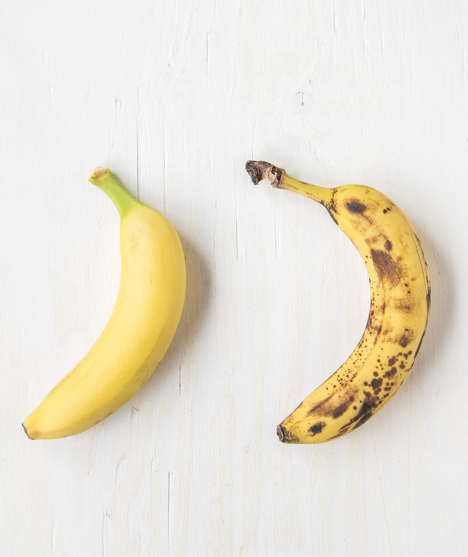 Bananas At Different Stages Of Ripeness