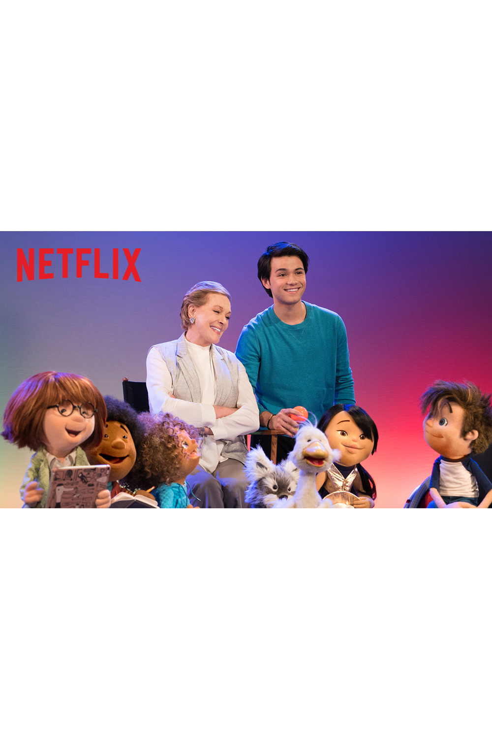 <p>Julie Andrews Netflix TV Show</p>