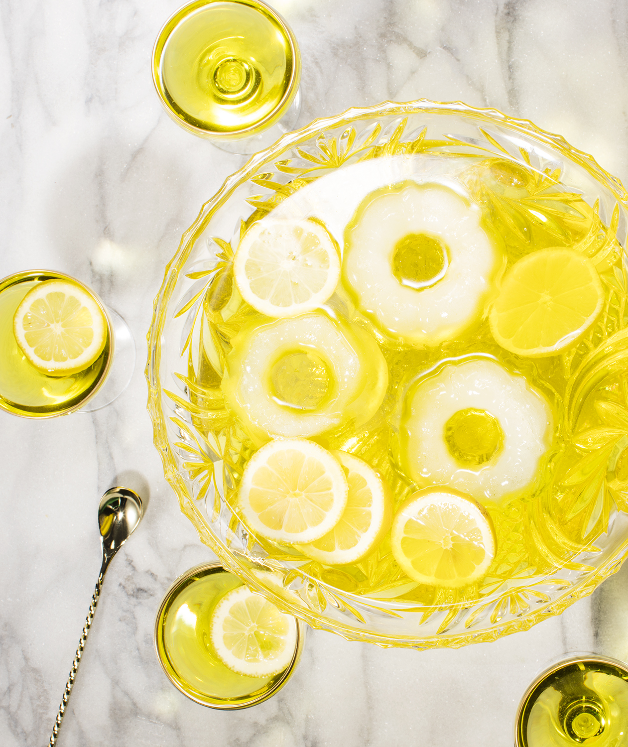 White Negroni Punch