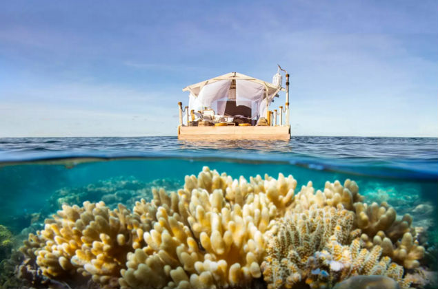 Floating Home on Great Barrier Reef