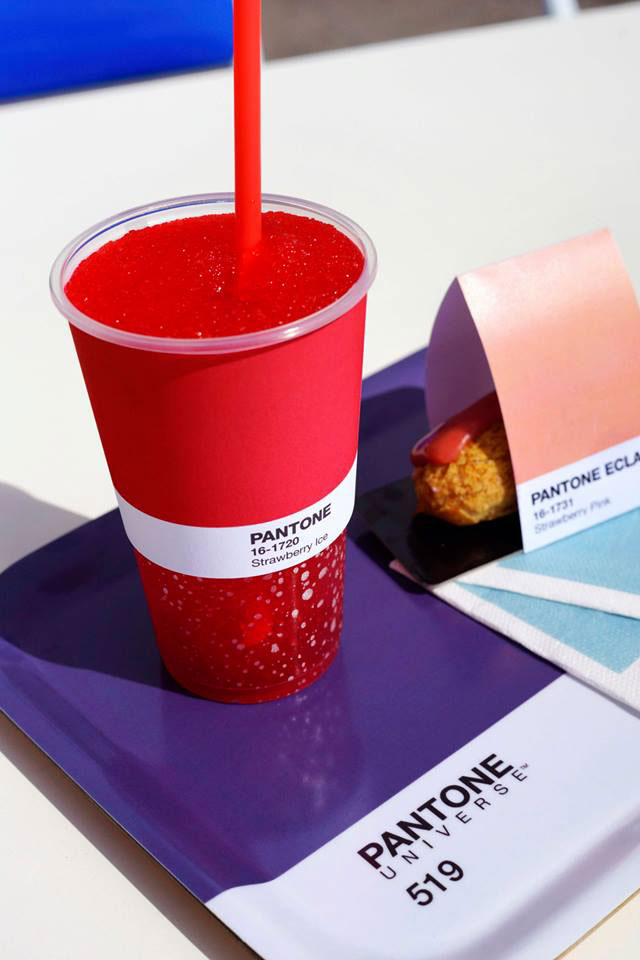 Pantone Cafe Snacks