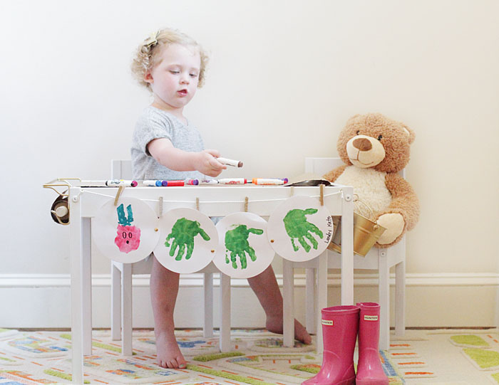 IKEA Kids' Craft Table DIY