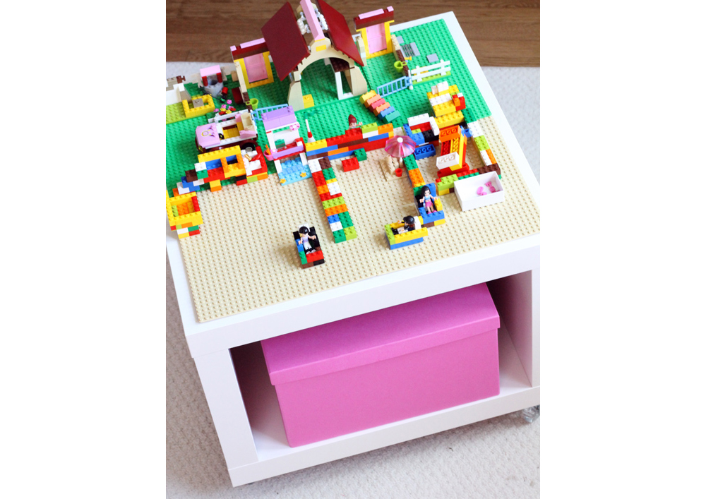 IKEA LEGO Table DIY