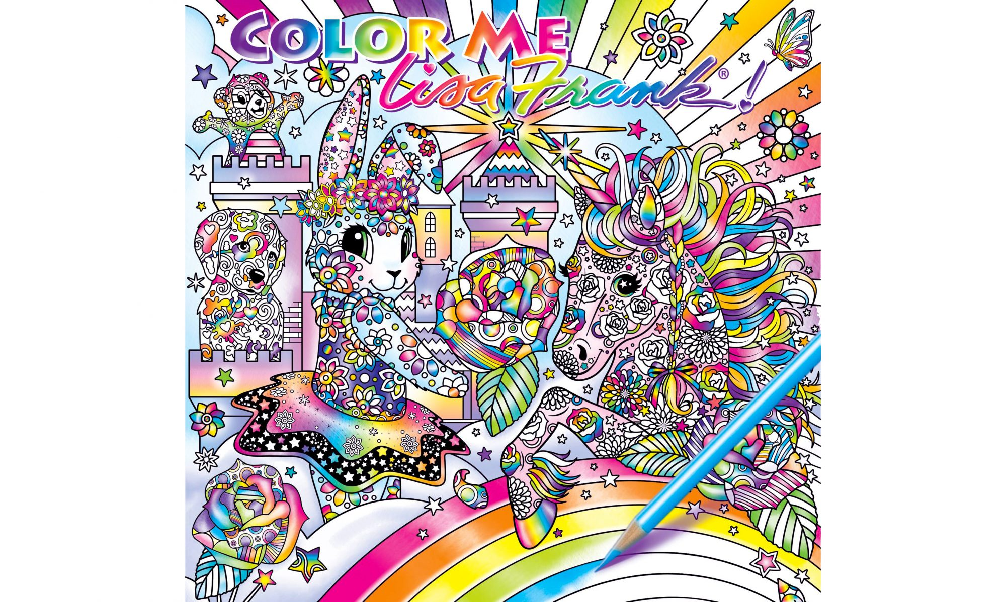 Get Excited: A Lisa Frank Coloring Book Is on the Way