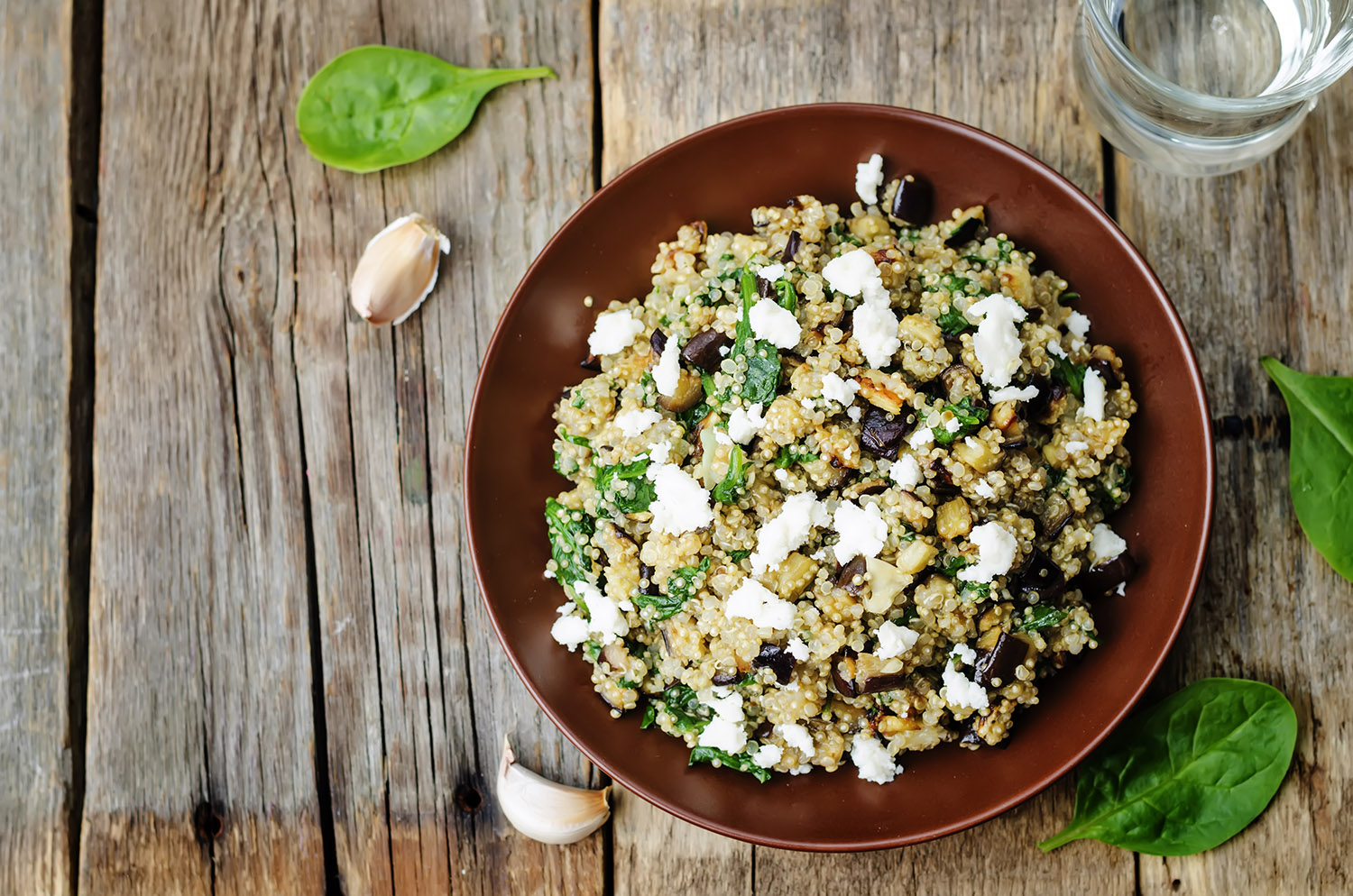 <p>Cooking Quinoa For Salad</p>