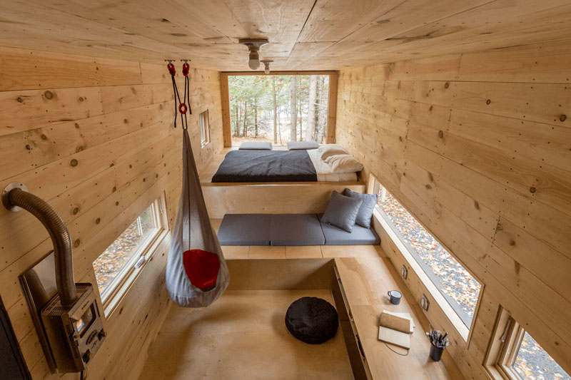 clara tiny house interior