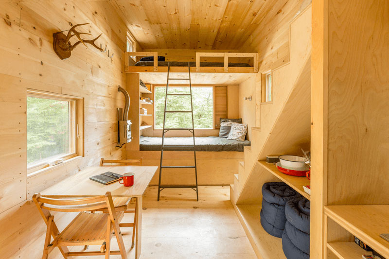 ovida tiny house interior