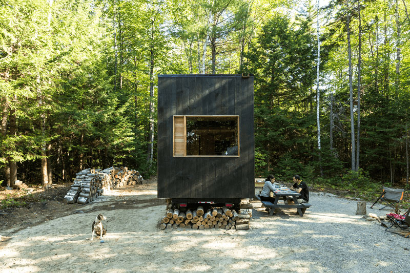 Now You Can Rent A Tiny House in the Woods Real Simple